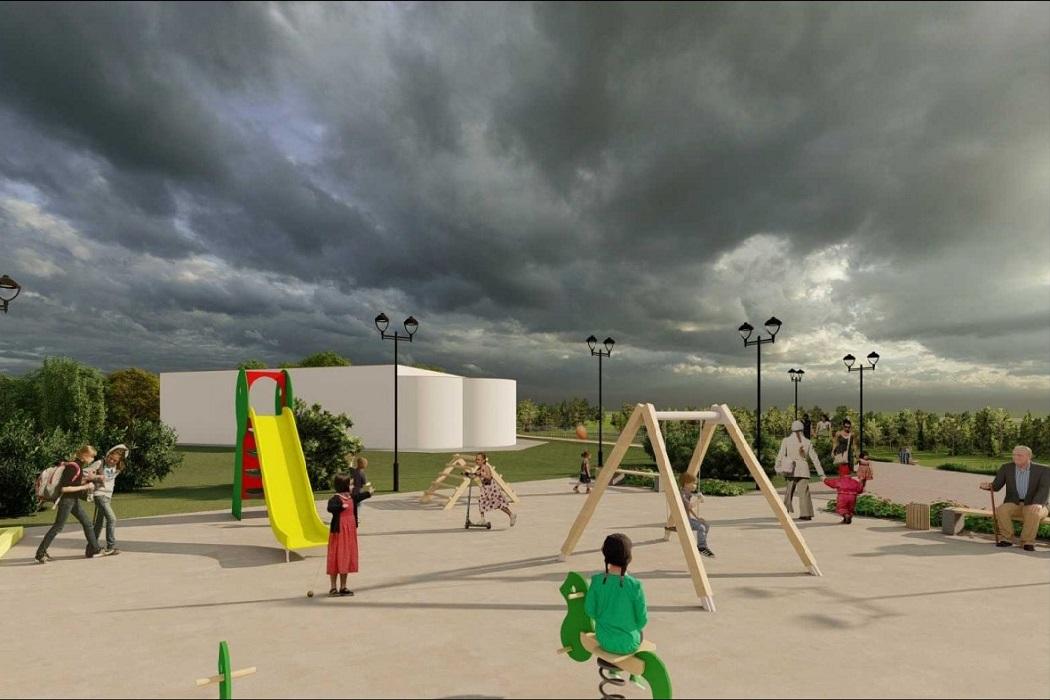 В деревне Ярки ХМАО обустроят детскую площадку на территории Храма