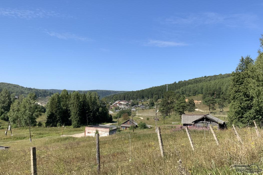 Поселок деревня