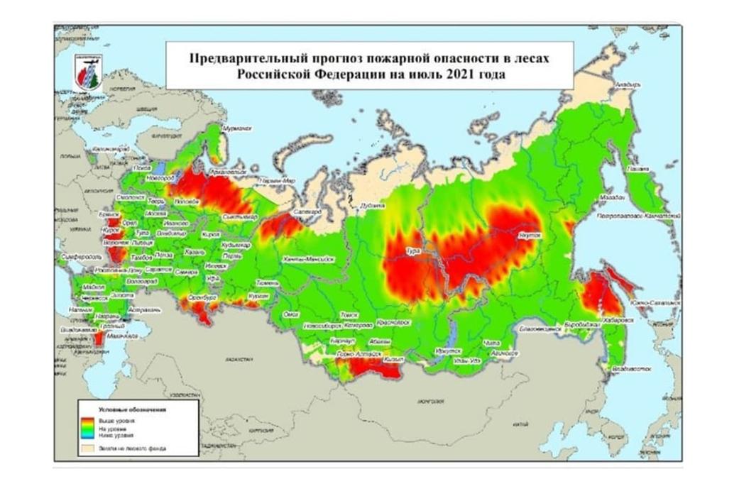 В июле на Урале ожидают повышение пожарной опасности