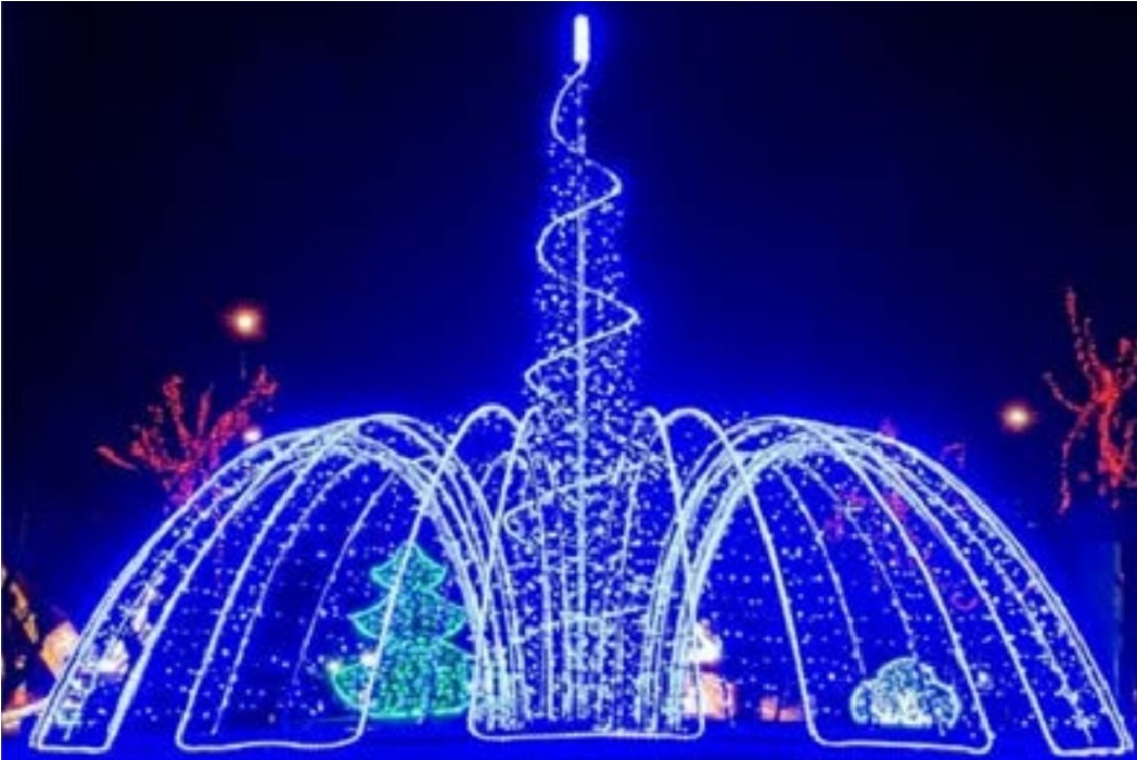 В тюменском селе Омутинское началась подготовка к Новому году