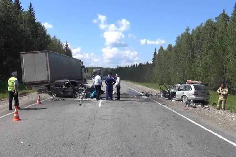 Три человека погибли в ДТП на трассе Пермь – Екатеринбург