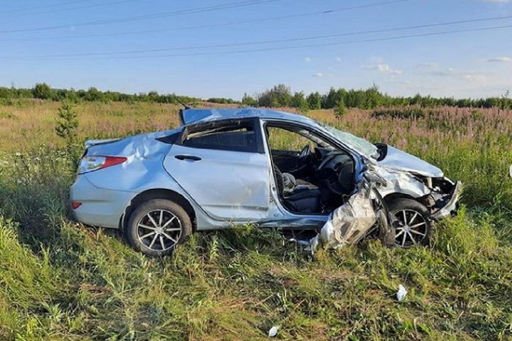 Три пенсионера пострадали в ДТП с Matiz и Hyundai на Свердловской трассе