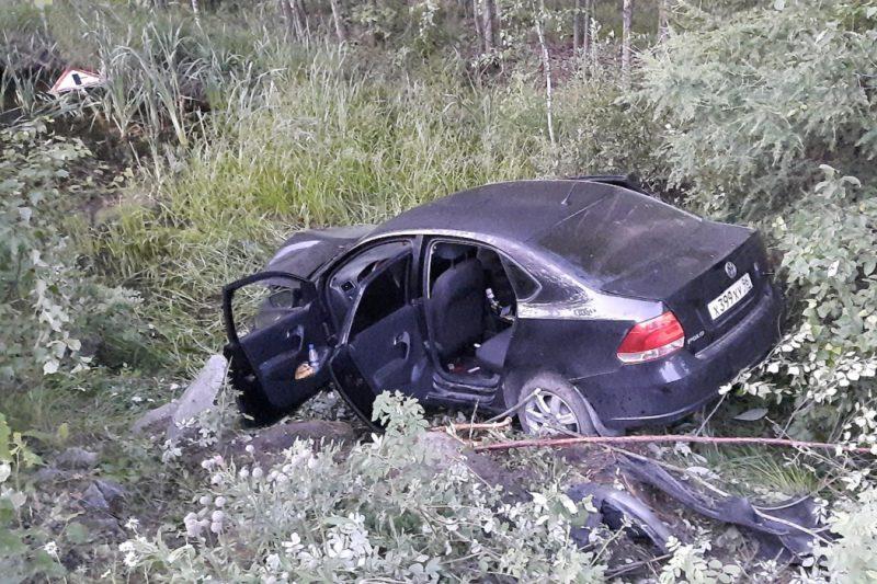 В ДТП на Серовском тракте погиб 44-летний водитель Volkswagen