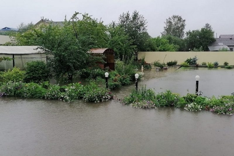 Под Нижним Тагилом затопило село Николо-Павловское