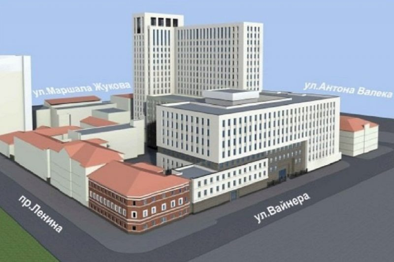 В Екатеринбурге ФСБ заказала 3D визуализацию своего нового здания