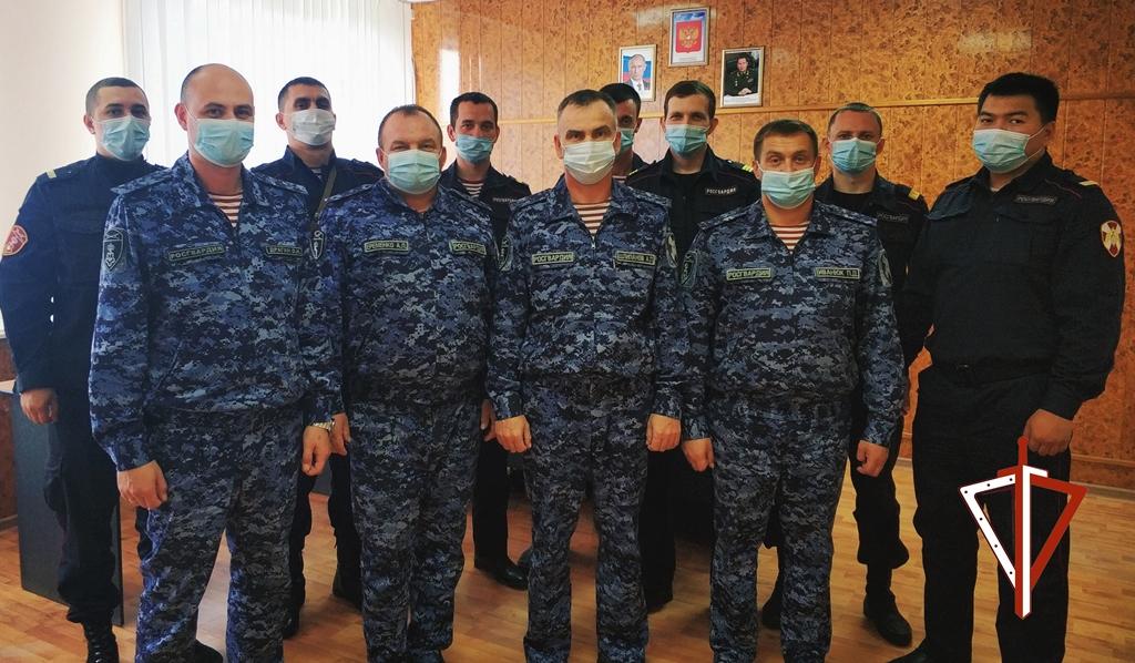 34-ю годовщину образования отдела встретили сотрудники вневедомственной охраны Нягани