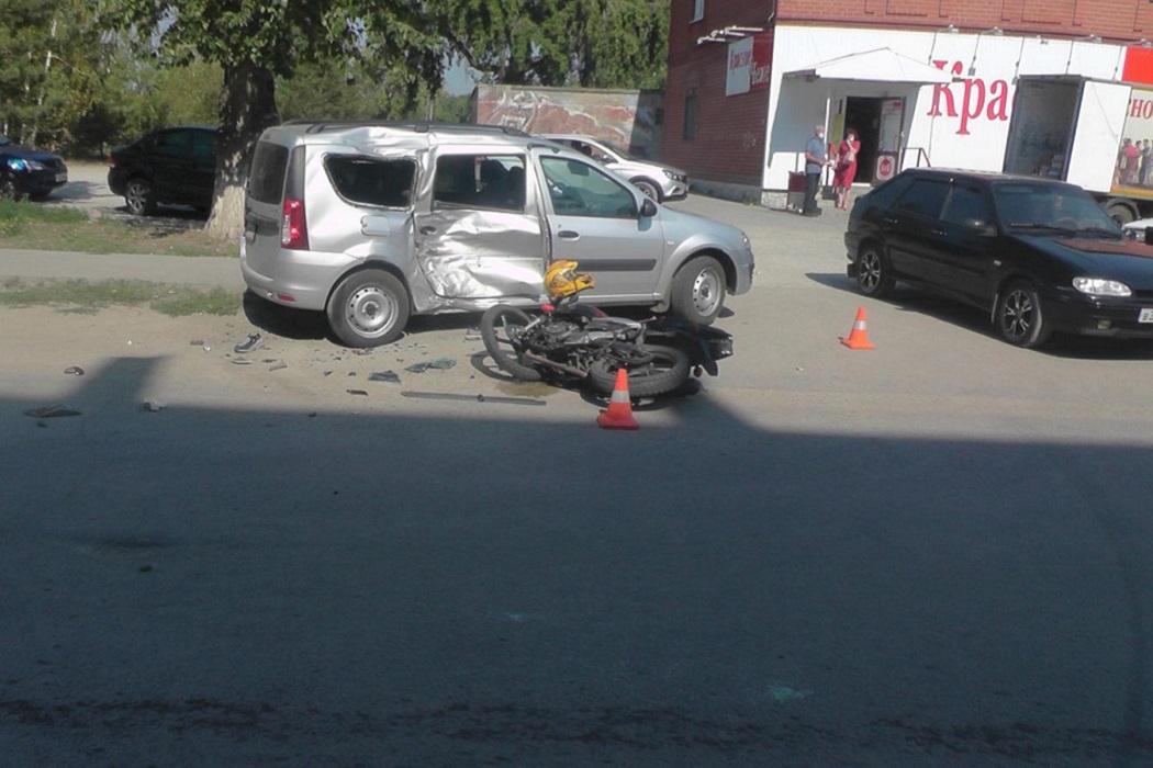 Мотоцикл + авария + бок + ДТП + столкновение с мотоциклом