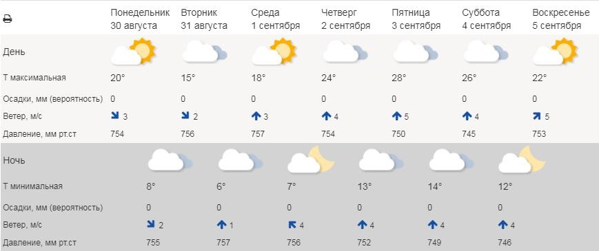 В Курганской области ближе к выходным потеплеет до +28° С