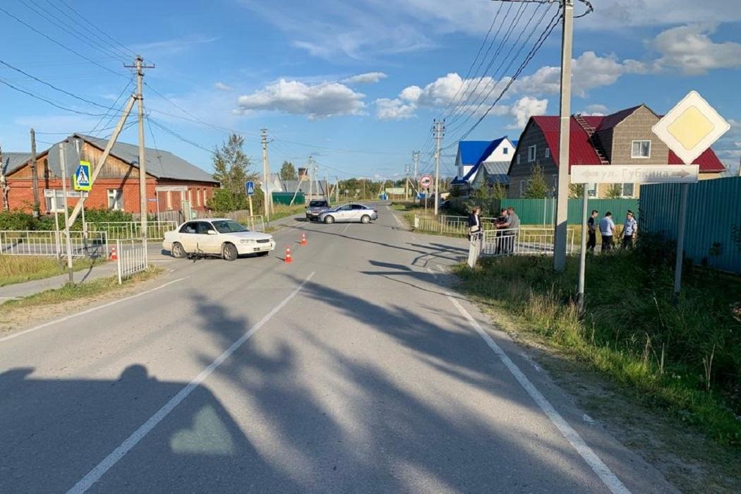 В Югре водитель «Тойоты» сбил 8-летнего ребёнка на велосипеде