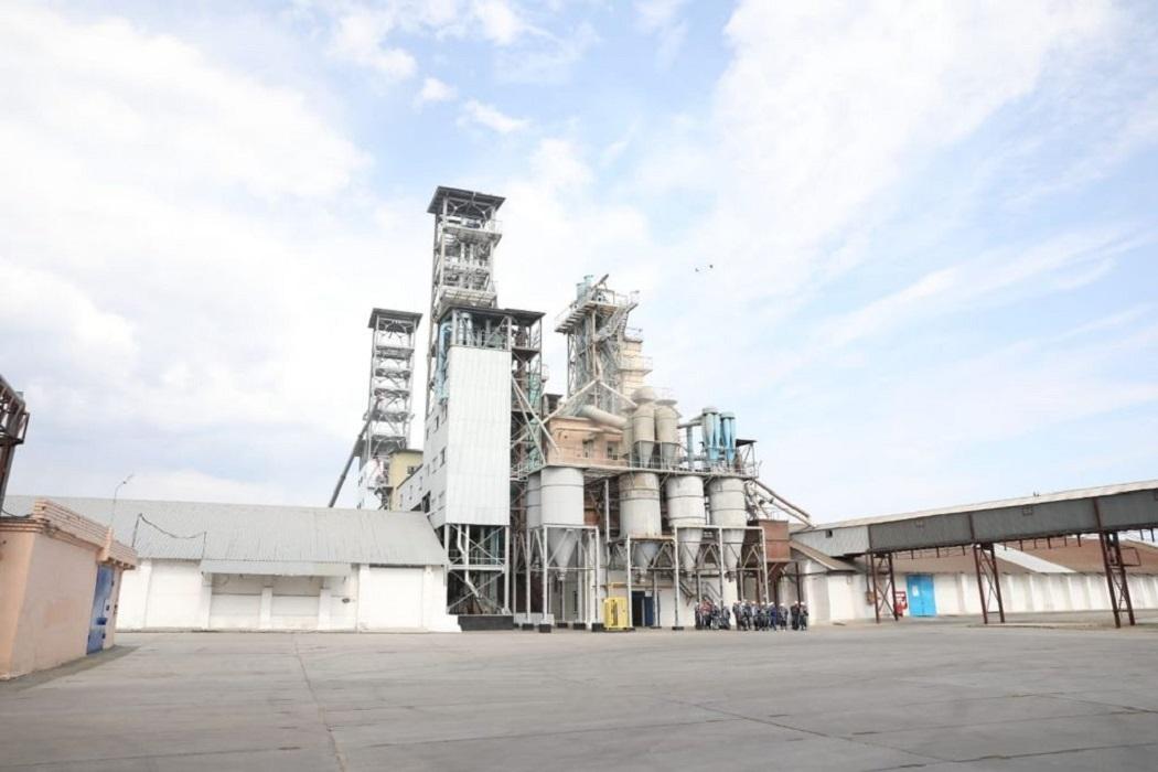 Завод + мукомольный завод + очистка зерна + переработка зерна