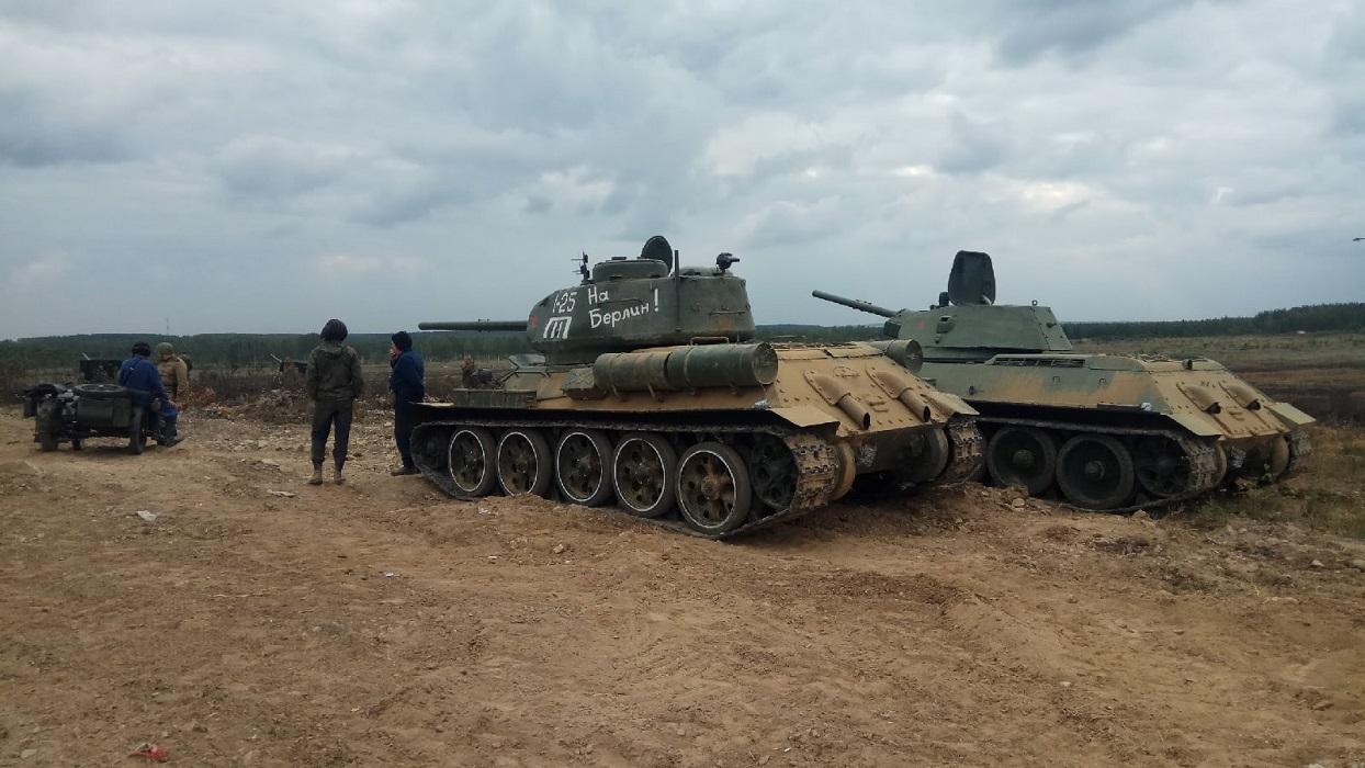 На форуме «Армия-2021» в реконструкции боя участвовали экспонаты музея УГМК