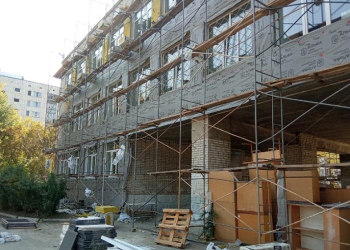 В Кургане не успели завершить ремонт школы в Шевелёвке к 1 сентября
