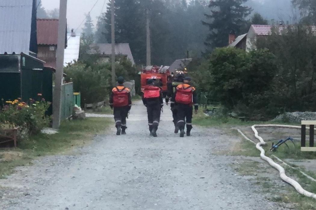 МЧС пожар, эвакуация
