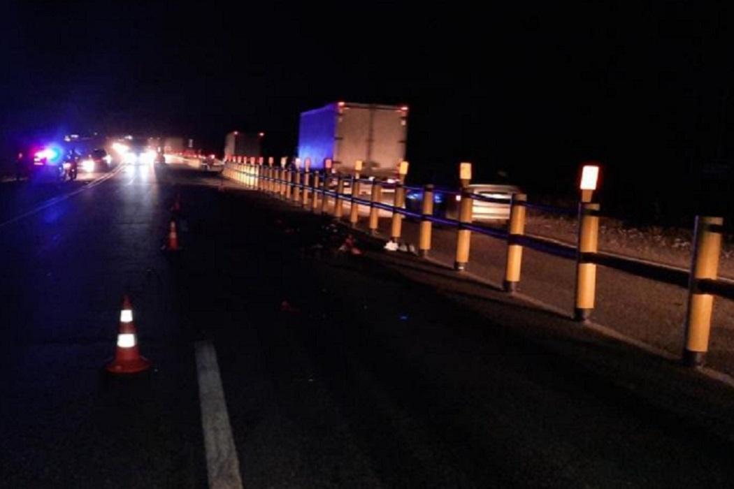 Мотоциклист погиб под колёсами грузовика на трассе «Пермь-Екатеринбург»