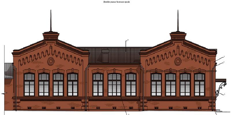 В Шадринске реставрируют здание трёхкомплектного училища