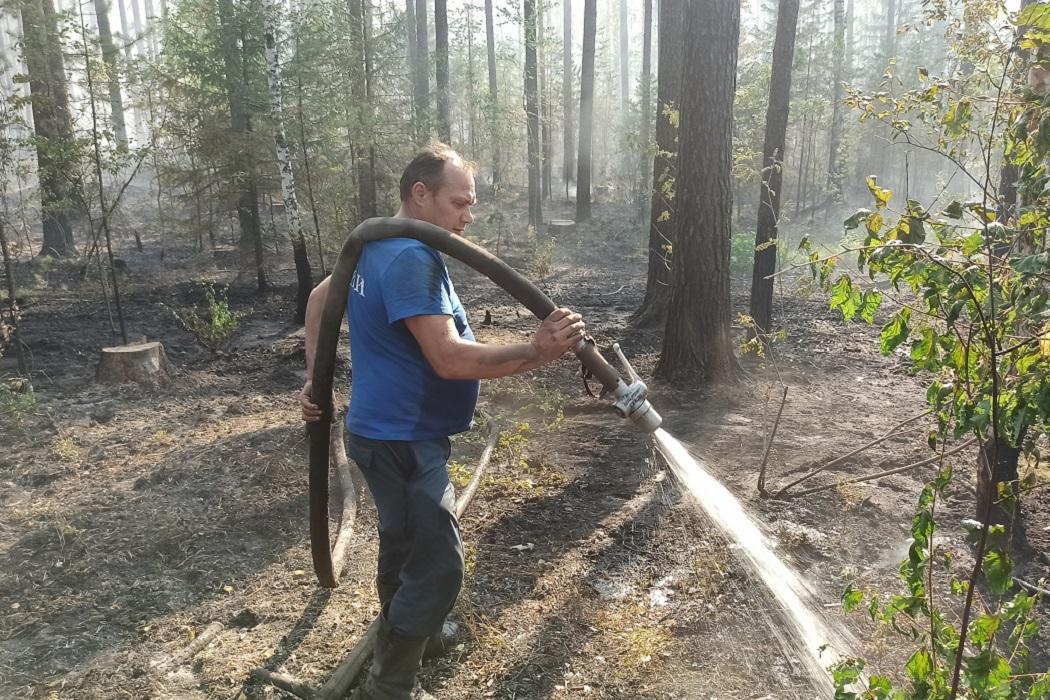 Под Первоуральском выгорело 760 гектаров леса