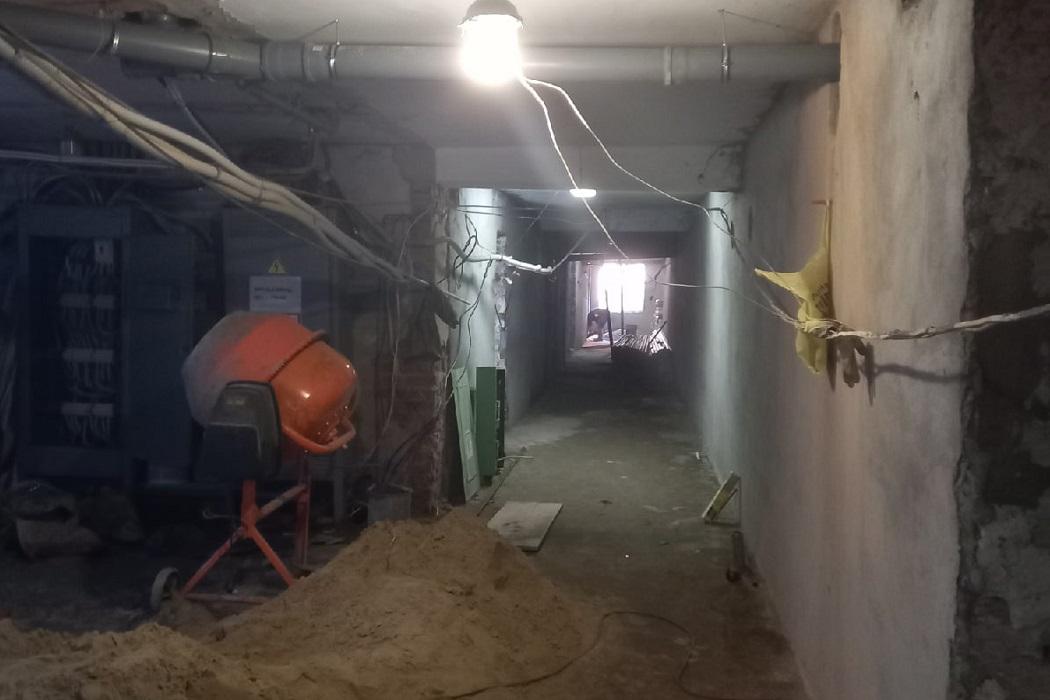 Ремонт в Нижнетавдинской больнице завершится в ноябре