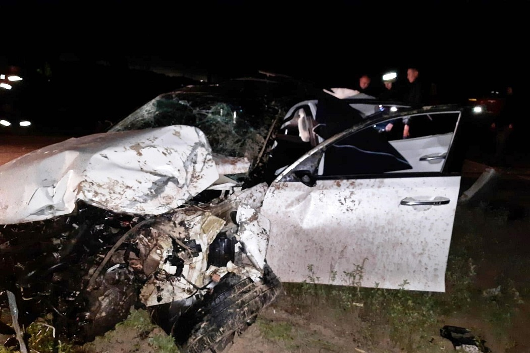 Два человека погибли в ночном ДТП на трассе в Югре
