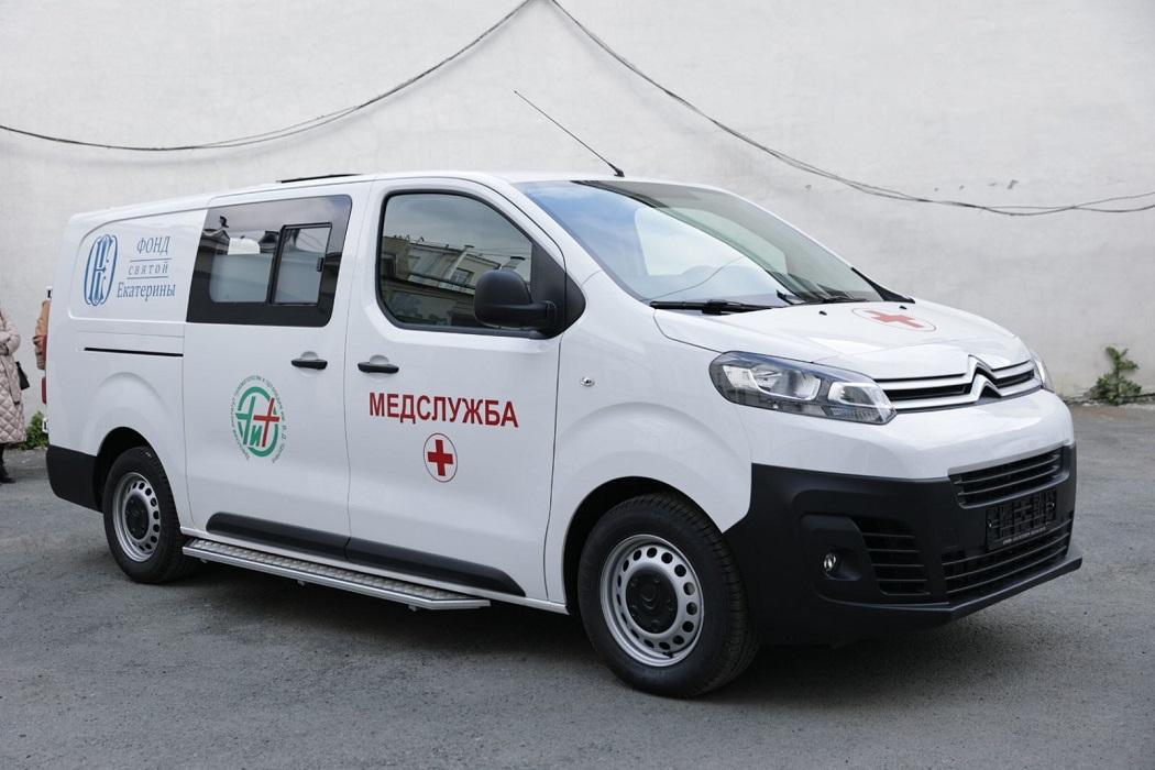 Фонд святой Екатерины подарил НИИ травматологии новую маневренную скорую