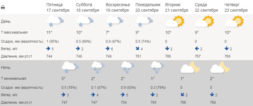 На выходных в Зауралье пойдёт снег
