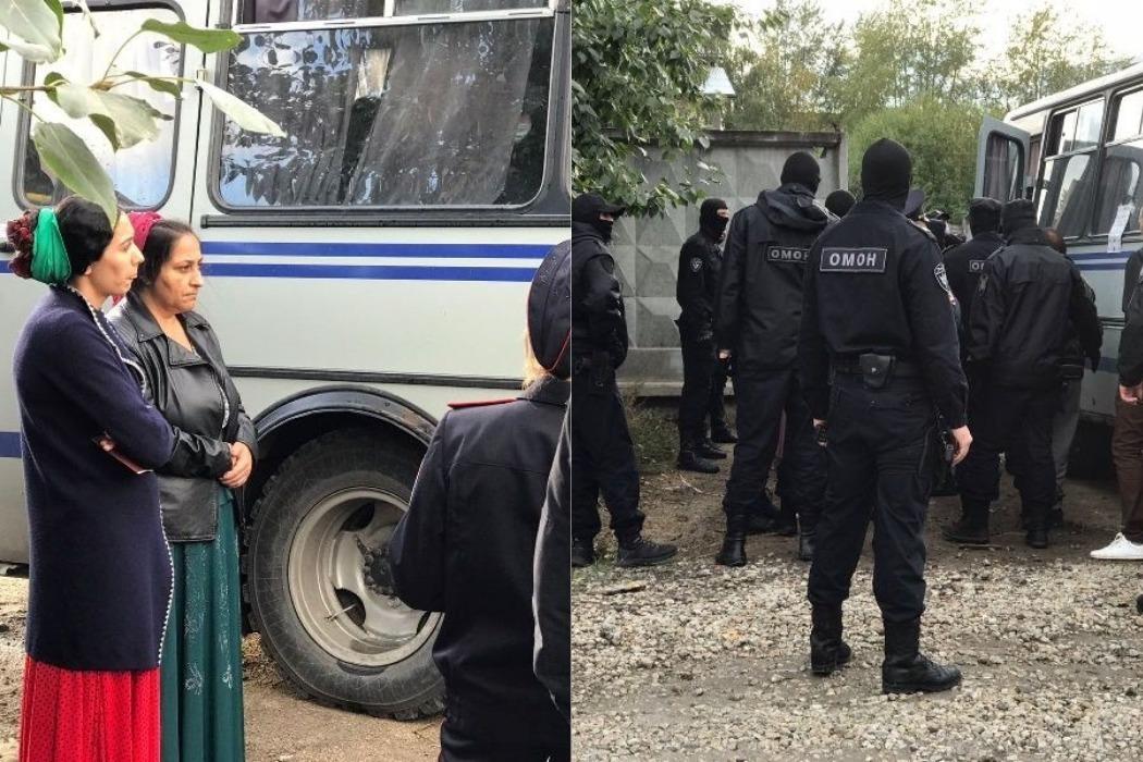 В Цыганском поселке Екатеринбурга задержали 20 человек после визита ОМОНа