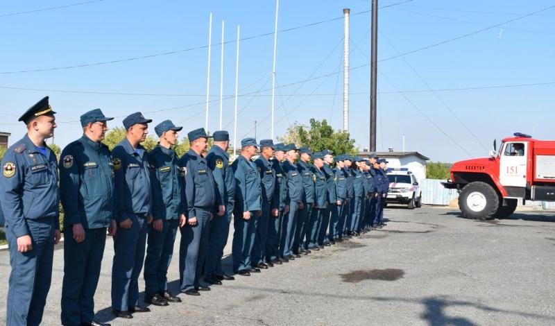 Огнеборцы Бердюжского района получили пожарный автомобиль 1