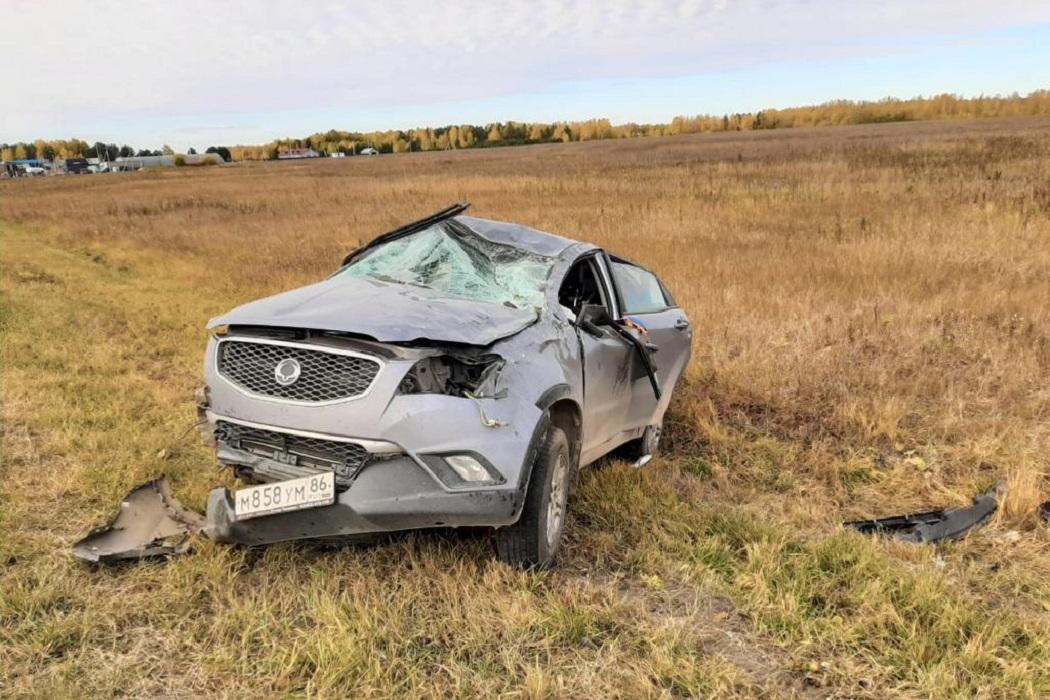 Под Тюменью водитель спровоцировал ДТП, в котором погибли мать и сын