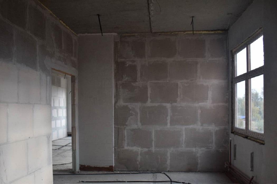 Помещение + внутренняя отделка + ремонт + бетон + косметический ремонт