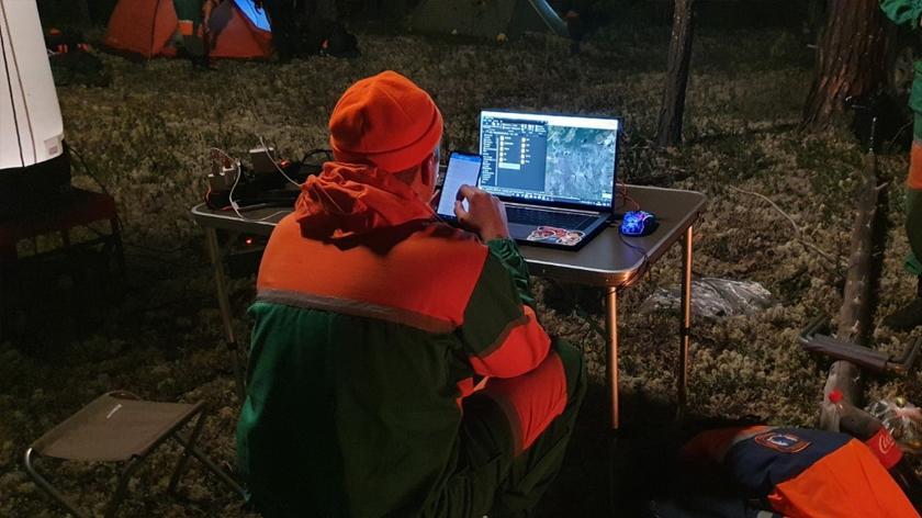 Пропавший в лесу под Ноябрьском мужчина нашёлся живым 1