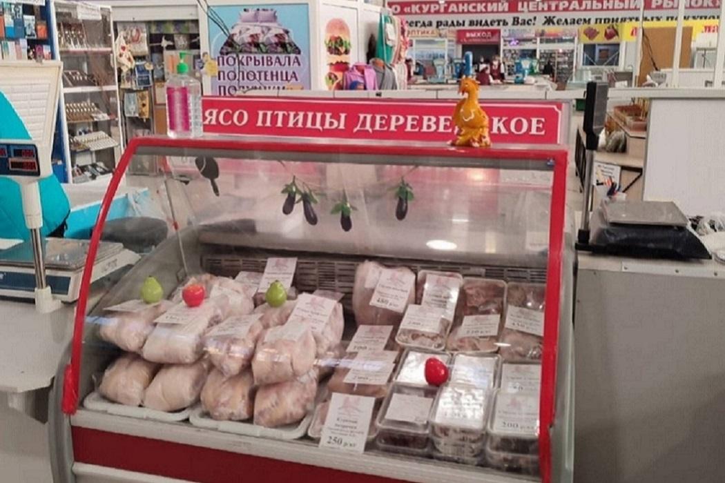Рынок + торговля + прилавок + Центральный рынок + мясо + птица + морозильник + холодильник