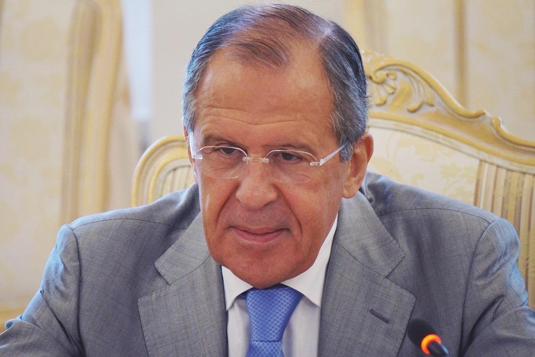 Министр иностранных дел РФ Сергей Лавров прибыл в Екатеринбург