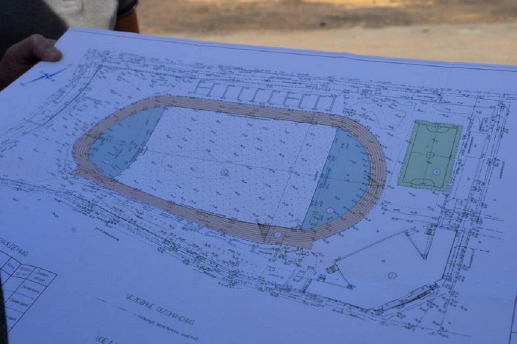 Спортивное поле + футбольное поле + мини-поле
