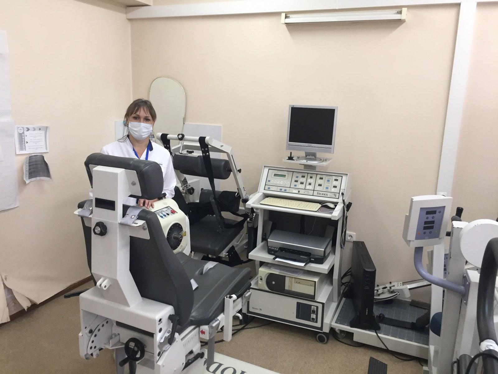 Тюменцы могут пройти реабилитацию после травм на роботизированном оборудовании 1
