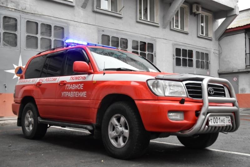 У сотрудников МЧС Тюмени появился новый служебный автомобиль