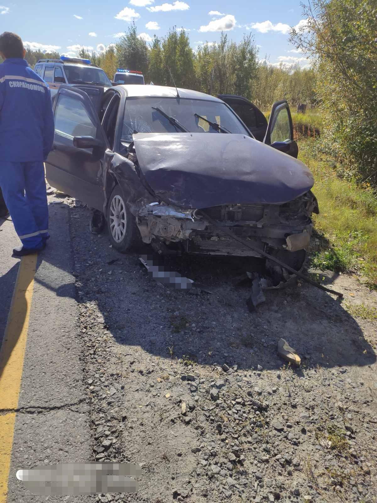 В ДТП на югорской трассе пострадал двухмесячный младенец