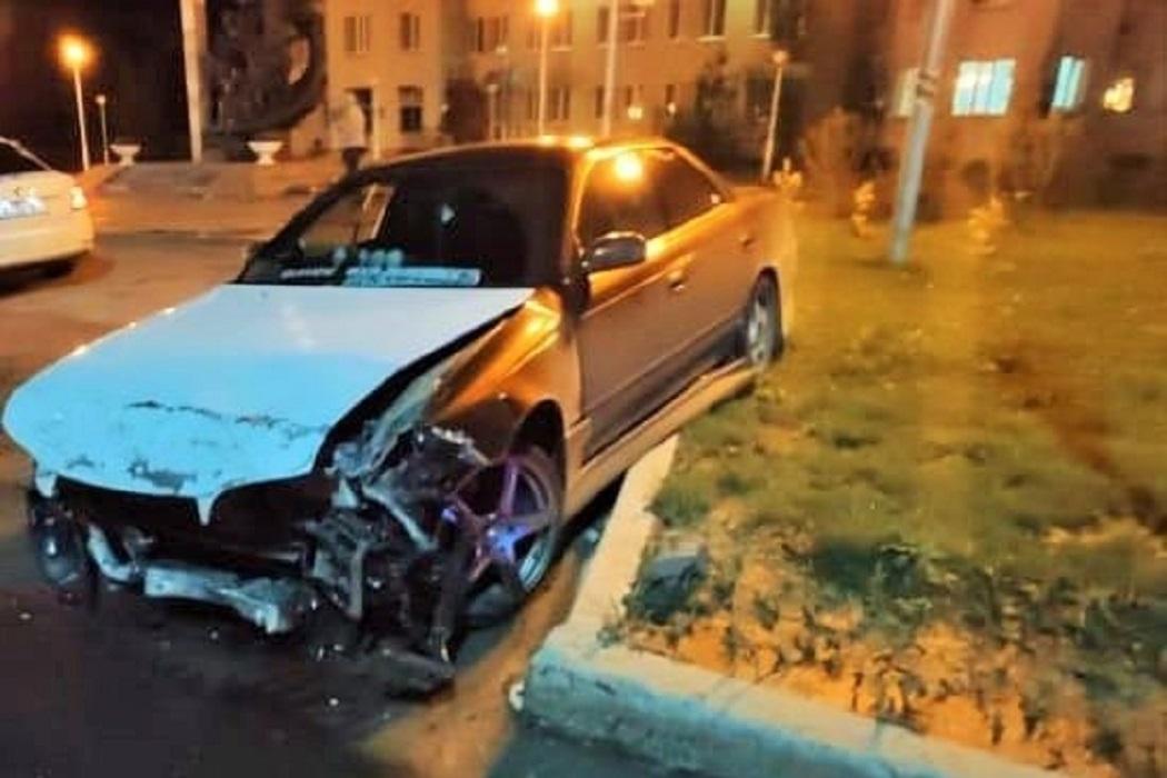 В Нижневартовске в ночном массовом ДТП пострадали три человека