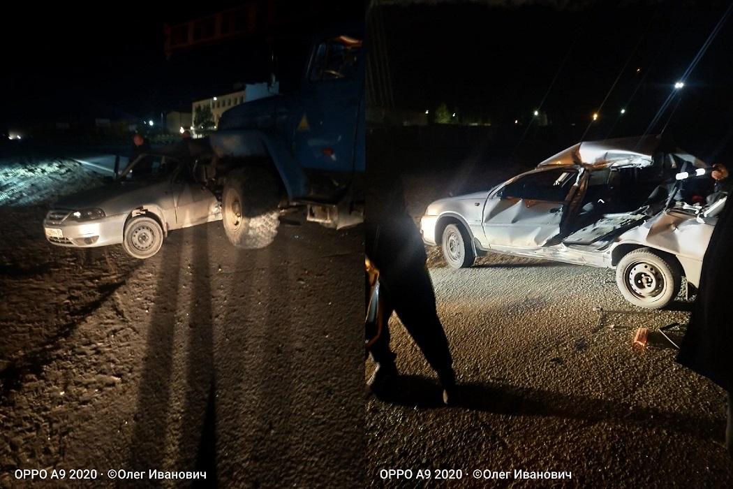 В Ноябрьске молодой водитель попал в ДТП с грузовиком 1