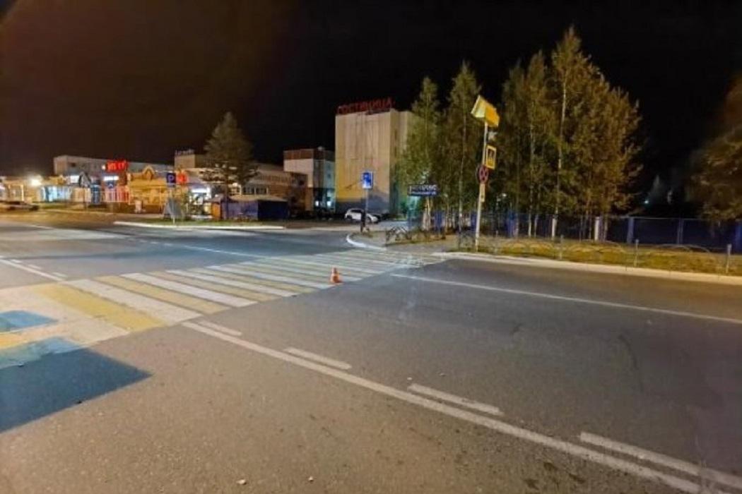 В Ноябрьске водитель иномарки сбил пешехода