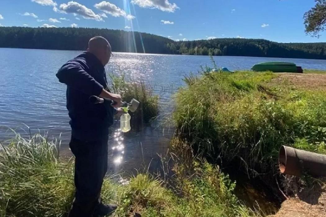 В Реже уберут трубу для сброса воды в пруд из бассейна терм «Баден-Баден»