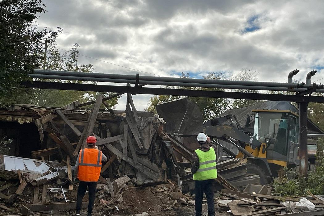 В Тюмени с начала года снесено 80 аварийных домов