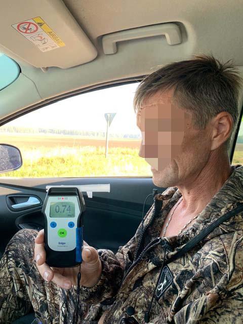 В Тюменской области за выходные поймали 56 нетрезвых водителей