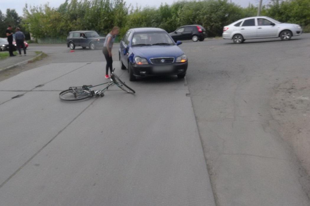 Велосипед + авария + автомобиль + столкновение + ДТП