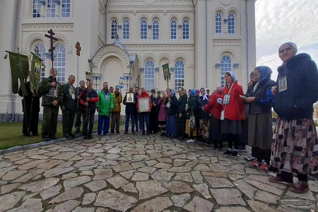 В духовной столице Урала верующие почтили память Симеона Верхотурского