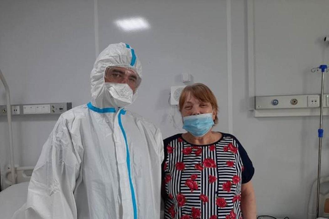 Врачи Нового Уренгоя спасли онкобольную пенсионерку с COVID-19
