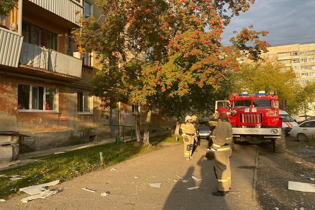 В Верхней Пышме из-за взрыва газа госпитализировали мужчину с 40% ожогов тела