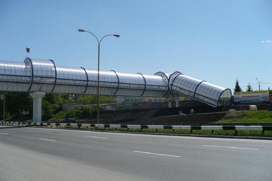 На ЕКАД построят большой пешеходный мост с лифтами возле посёлка «Ключевский»