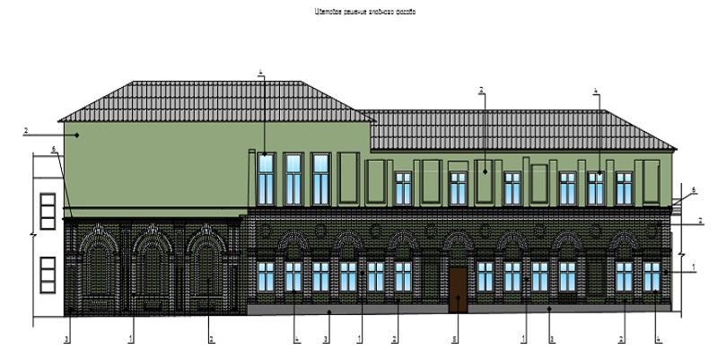 В Шадринске реставрируют часть усадьбы купца Соснина