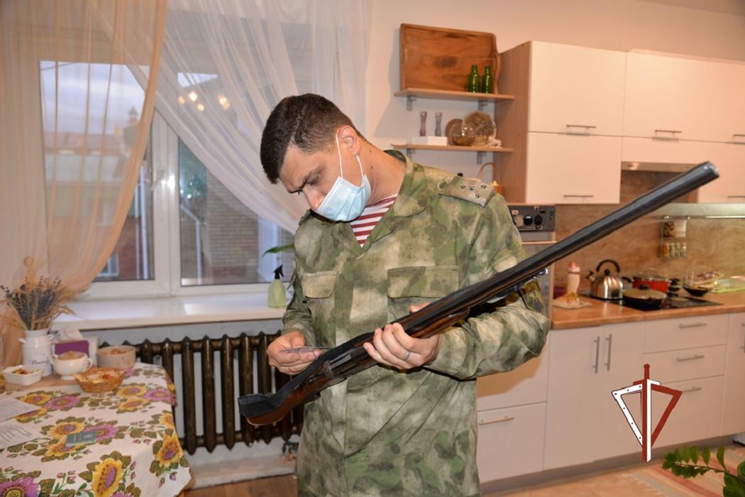 Росгвардия изъяла более 150 единиц оружия в Югре
