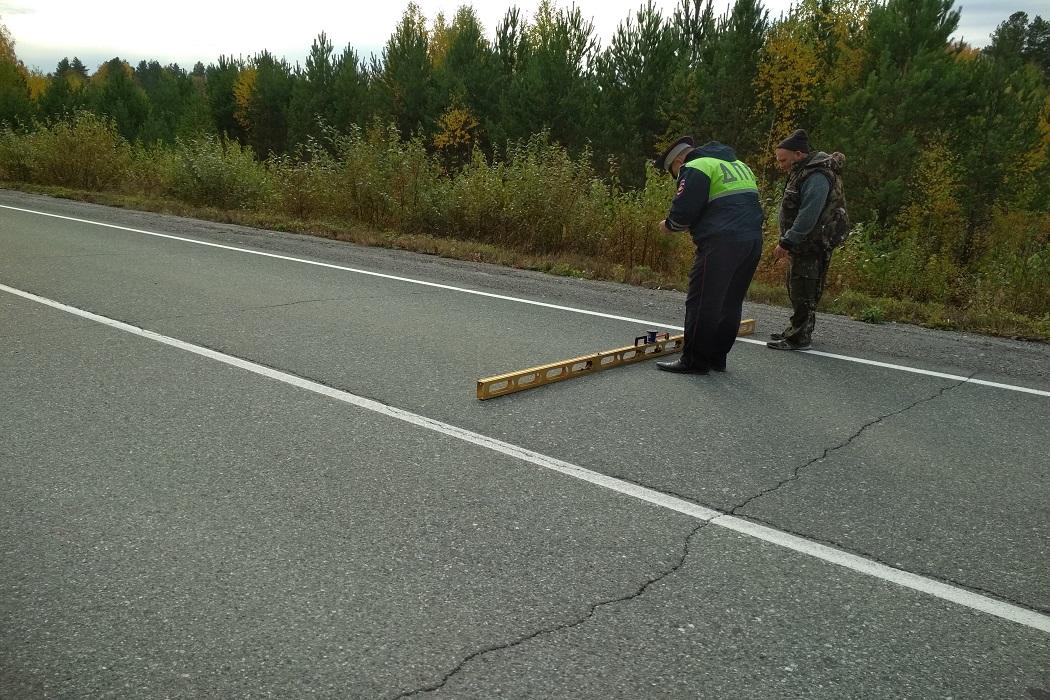 В аварии под Первоуральском погибла пассажирка и пострадал водитель
