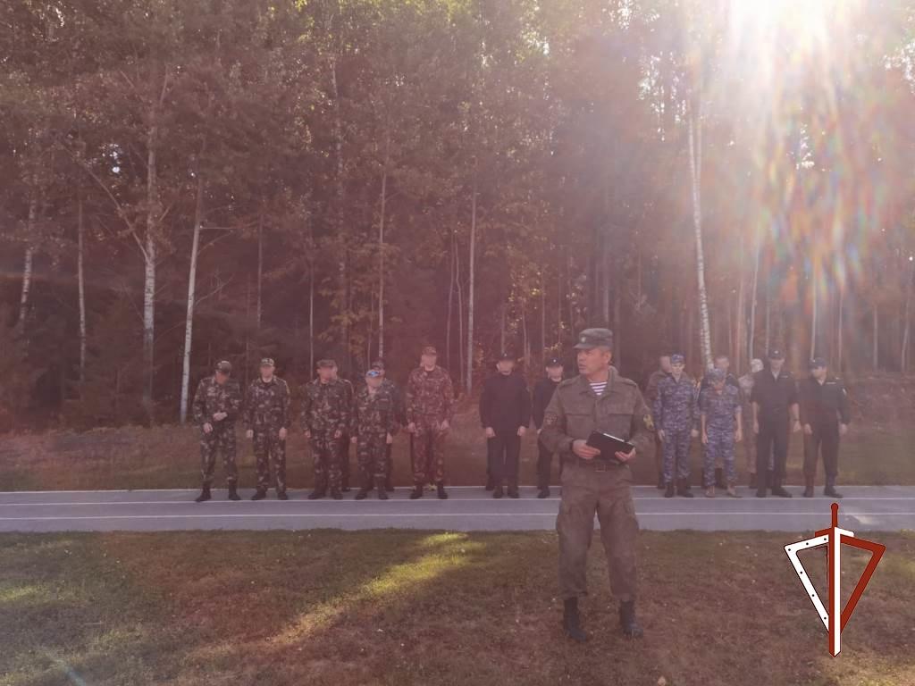 В Югре прошли соревнования по военно-прикладным видам спорта росгвардейцев